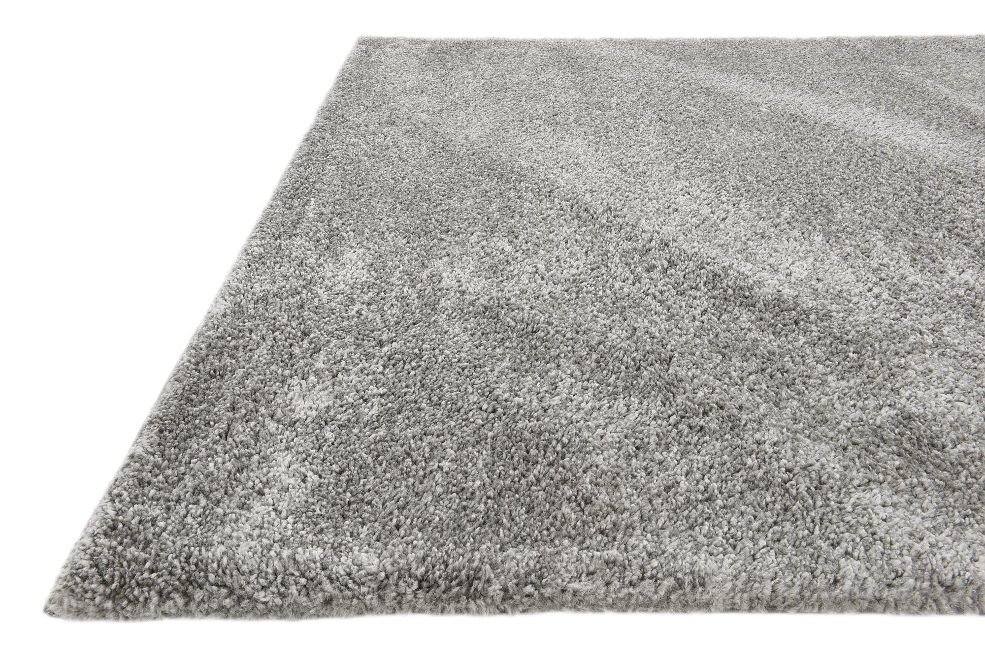 Shaggy Contemporary Area Rug Soft Thick Small Modern Plain