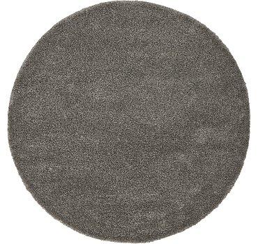 183x183 Solid Frieze Rug