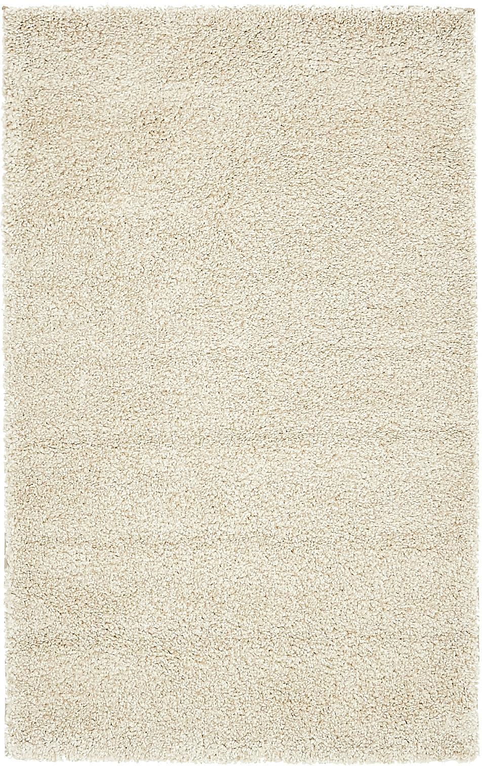ivory 3' 3 x 5' 3 solid frieze rug | area rugs | esalerugs