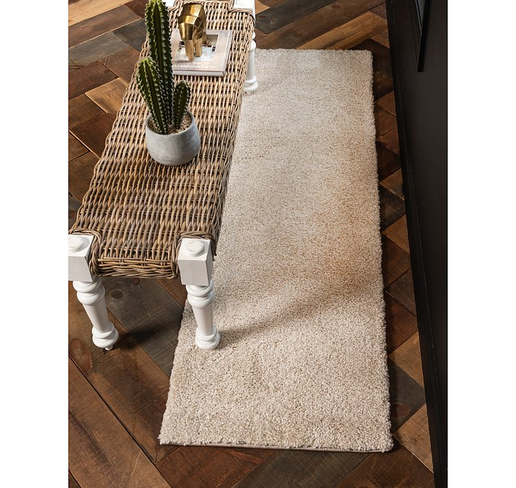 2' 2 x 13' Basic Frieze Runner Rug
