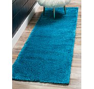 Link to 65cm x 395cm Solid Frieze Runner Rug