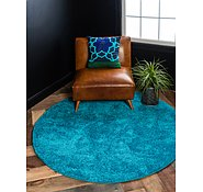 Link to 245cm x 245cm Solid Frieze Round Rug