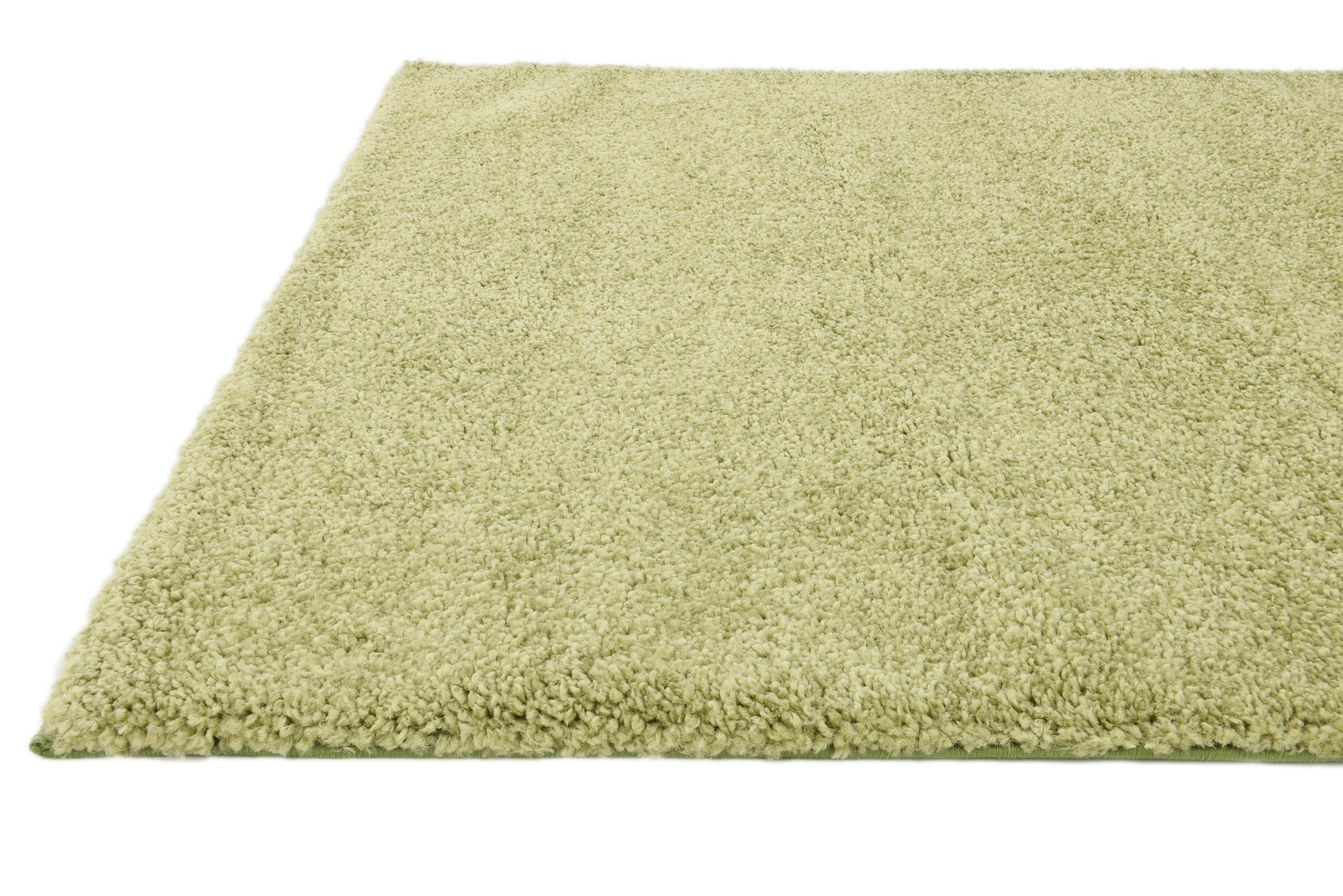 Shaggy contemporary area rug soft thick small modern plain for Thick area rugs sale
