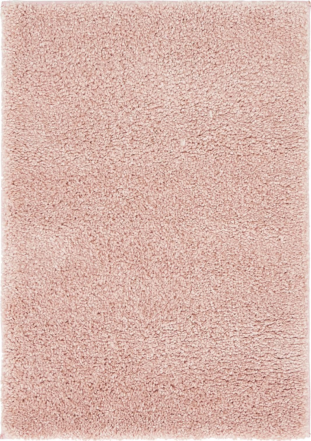 pink 2' 2 x 3' solid frieze rug | area rugs | esalerugs