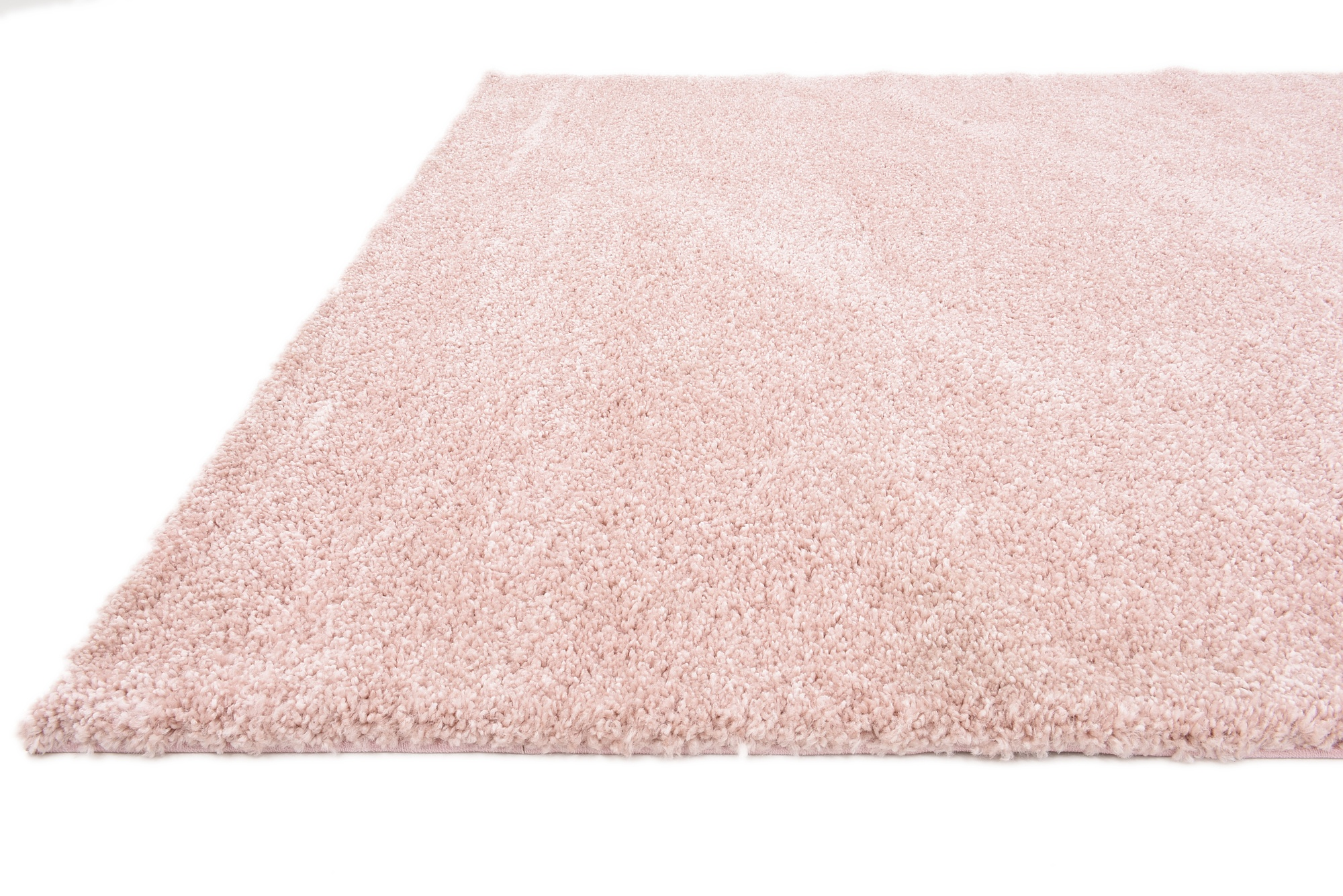 Shaggy contemporary area rug soft thick small modern plain for Soft area rugs
