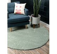 Link to 6' x 6' Solid Frieze Round Rug