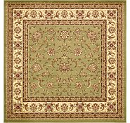 Link to 8' x 8' Classic Agra Square Rug