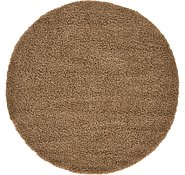 Link to 6' x 6' Solid Shag Round Rug