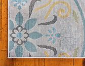 Unique Loom 2' x 6' Outdoor Modern Runner Rug thumbnail image 8