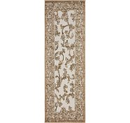 Link to 2' x 6' Outdoor Botanical Runner Rug