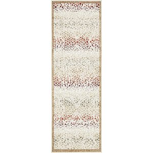 Unique Loom 2' x 6' Outdoor Modern Runner Rug