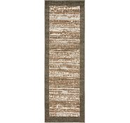 Link to Unique Loom 2' x 6' Outdoor Modern Runner Rug