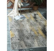 Link to Unique Loom 4' x 6' Outdoor Modern Rug