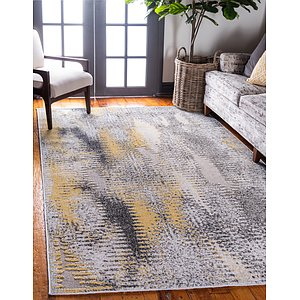 Unique Loom 4' x 6' Outdoor Modern Rug