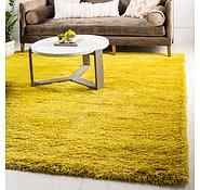 Link to 245cm x 245cm Luxe Solid Shag Square Rug
