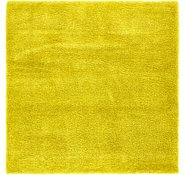 Link to 8' x 8' Luxe Solid Shag Square Rug