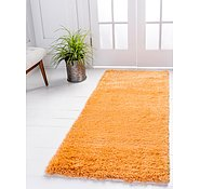 Link to 80cm x 305cm Luxe Solid Shag Runner Rug