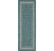 Link to Unique Loom 2' x 6' Outdoor Border Runner Rug