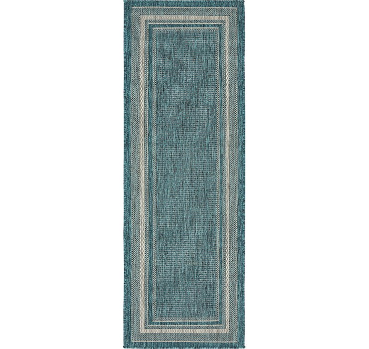 2' x 6' Outdoor Border Runner Rug