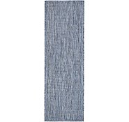 Link to 2' x 6' Outdoor Solid Runner Rug