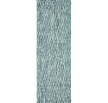 61x183 Outdoor Solid Rug