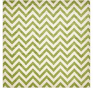 Link to 8' x 8' Chevron Square Rug