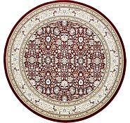 Link to 10' x 10' Tabriz Design Round Rug