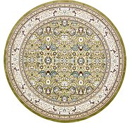 Link to Unique Loom 10' x 10' Tabriz Round Rug
