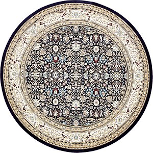 Unique Loom 10' x 10' Bazaar Round Rug
