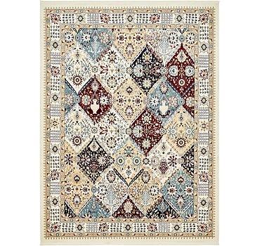 396x599 Tabriz Design Rug