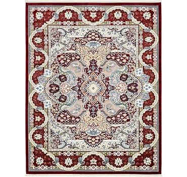 244x305 Tabriz Design Rug