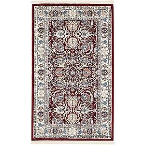 Unique Loom 3' x 5' Bazaar Rug