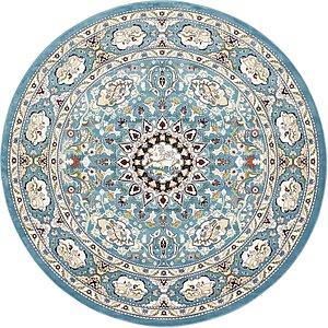 305cm x 305cm Tabriz Design Round Rug