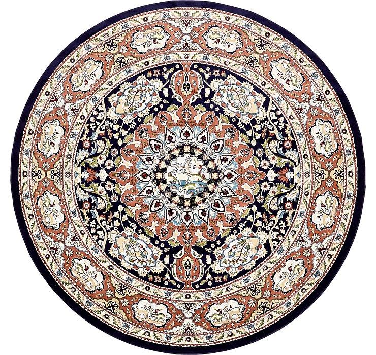 10' x 10' Tabriz Design Round Rug