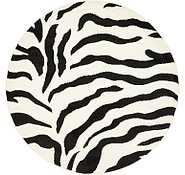 Link to 4' x 4' Safari Round Rug