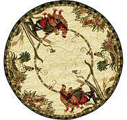 Link to 4' x 4' Country Round Rug