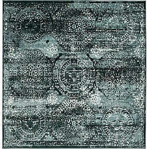 Unique Loom 6' x 6' Cambridge Square Rug