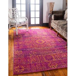 Unique Loom 4' x 6' Tradition Rug