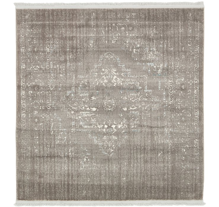 4' x 4' New Vintage Square Rug