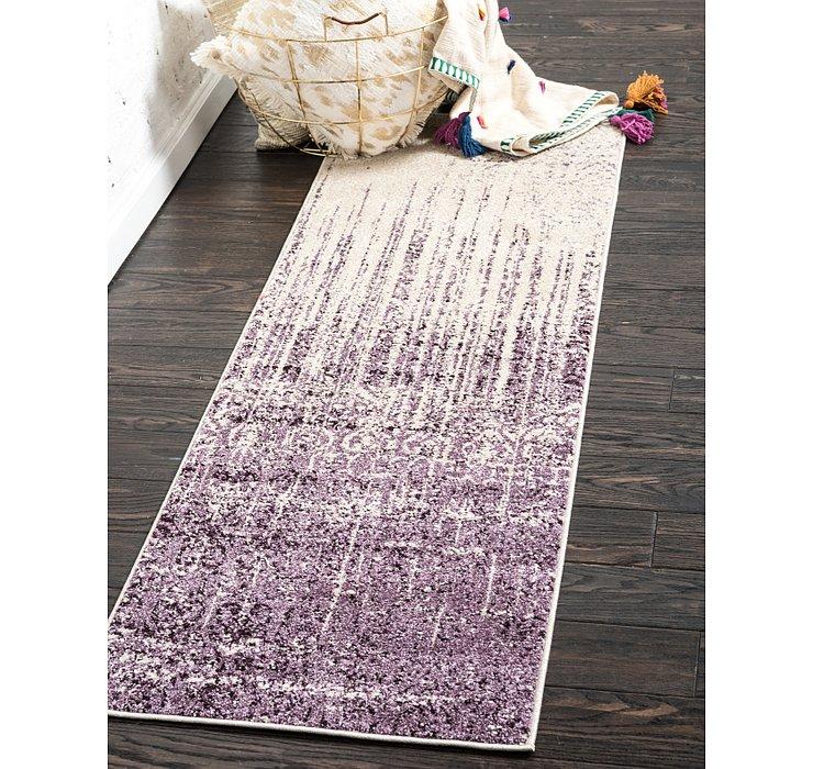 Purple Angelica Runner Rug