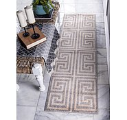 Link to 2' x 6' Greek Key Runner Rug