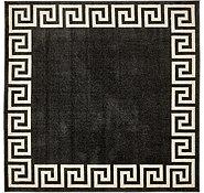 Link to 8' x 8' Greek Key Square Rug