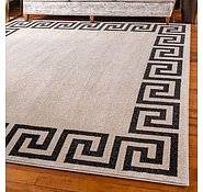 Link to 8' x 8' Greek Key Square Rug