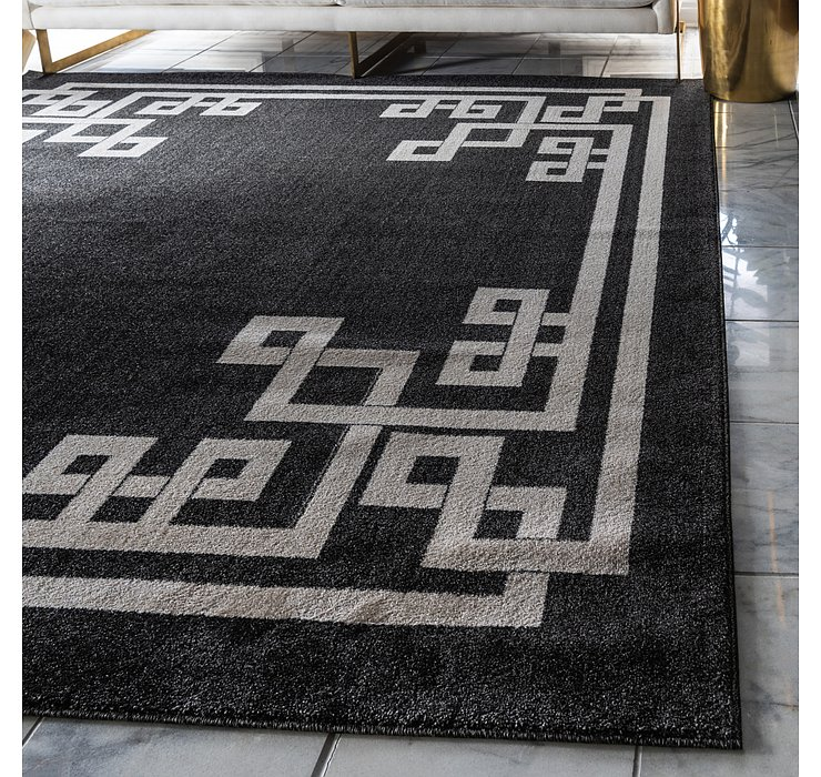 8' x 8' Greek Key Square Rug
