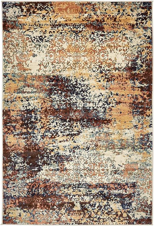 Brick Red 4 X 6 Ethereal Rug Area Rugs Esalerugs