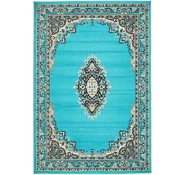 122x183 Mashad Design Rug