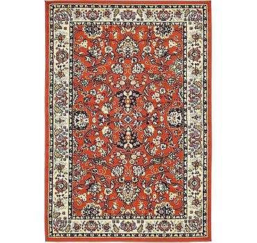 122x183 Kashan Design Rug