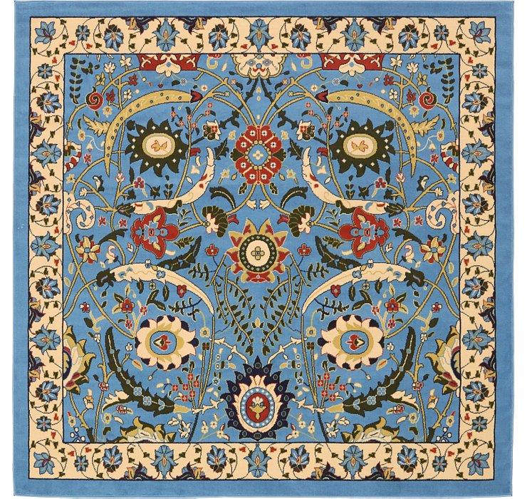 245cm x 245cm Isfahan Design Square Rug
