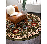 Link to 8' x 8' Isfahan Design Round Rug