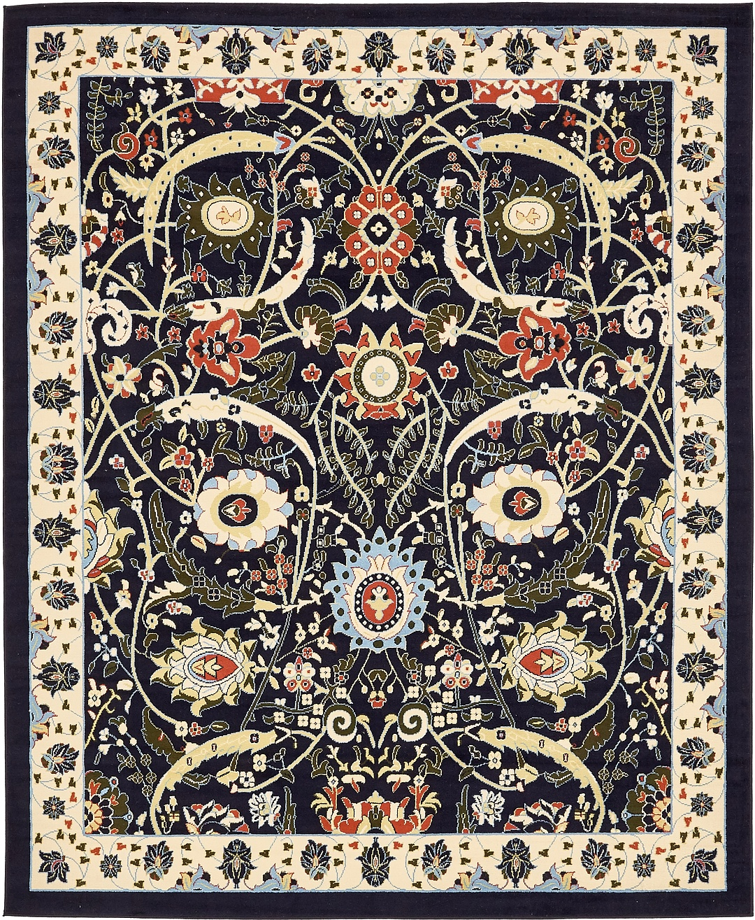 Oriental Rugs: Traditional Carpet All Over Small Persian Design Oriental